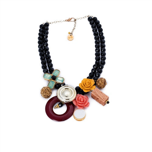 Abstract neckpiece N-1003