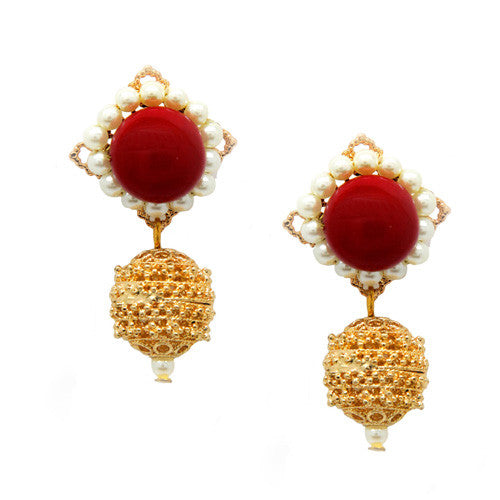Drops Earrings E-98