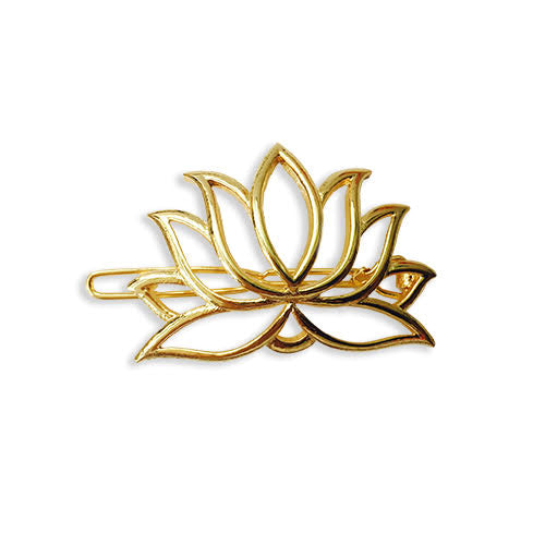 Lotus shaped hair clip HC-40