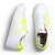SNEAKER LOW LEATHER NEON WOMAN YELLOW