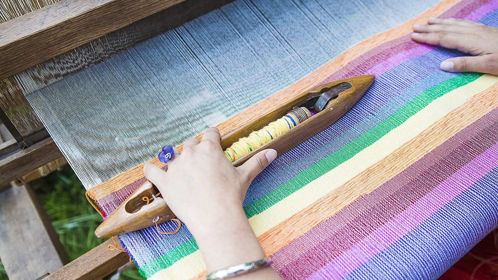 The History of Weaving and the Textile Industry | The Scrubba Wash Bag