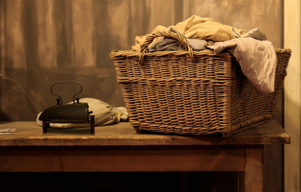 Old fashioned laundry - Scrubba wash bag
