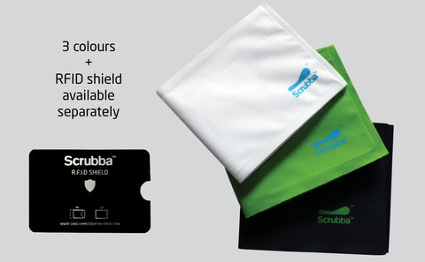 Scrubba weightless wallet colours and RFID