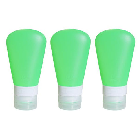 Scrubba 60ml triple pack silicone squeeze bottles