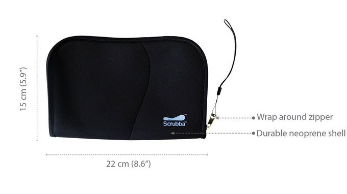 Scrubba Cable Pouch Closed