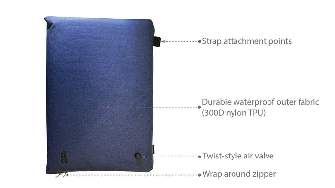The Scrubba Air Sleeve Features
