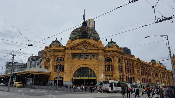 Places to visit in Melbourne - Flinders St Station