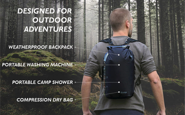 stealth pack functions for outdoors