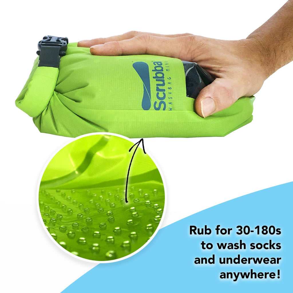Scrubba wash bag MINI - unpackaged