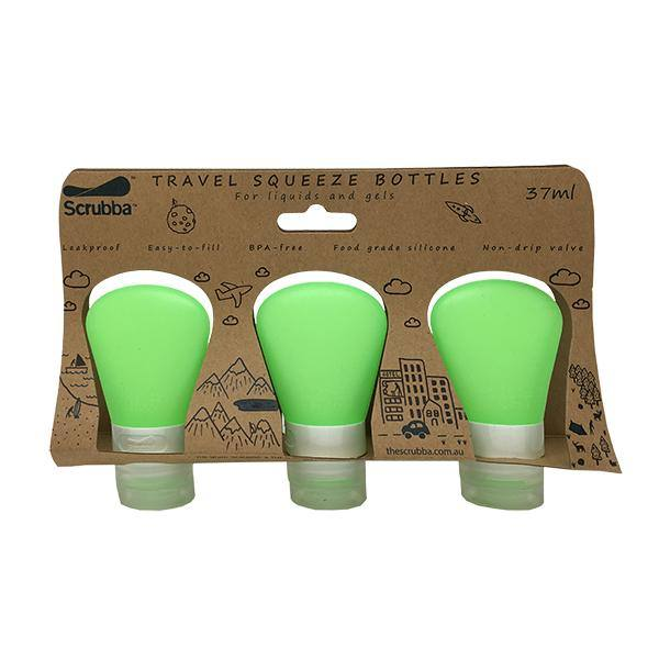 Scrubba Travel Squeeze Bottles Triple Pack