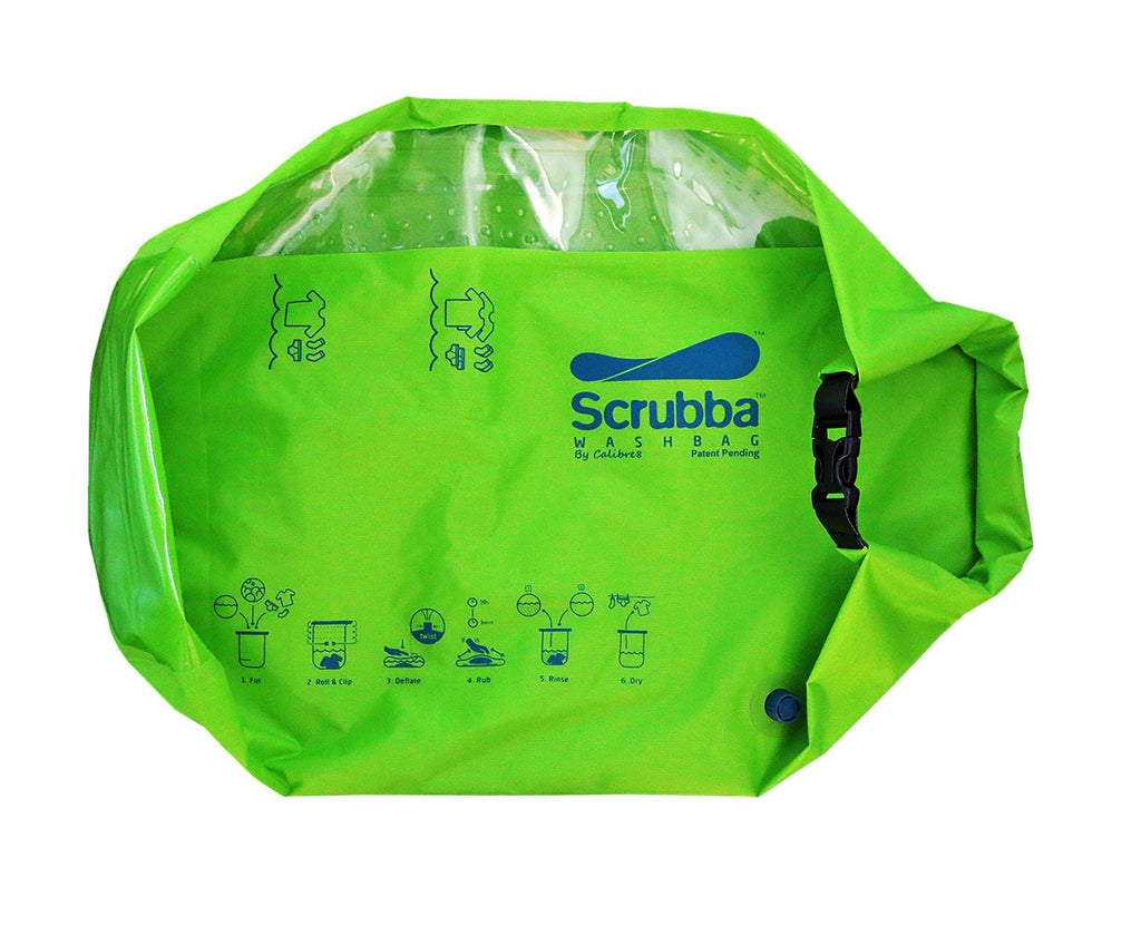 Scrubba Wash Bag Green - Gift Version