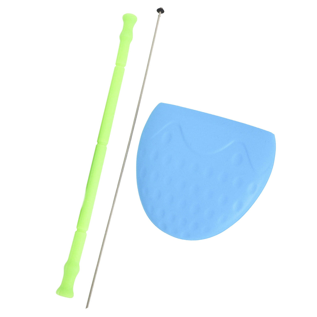 Scrubba Silicone Straw & Carry Pouch (+Cleaning Rod)