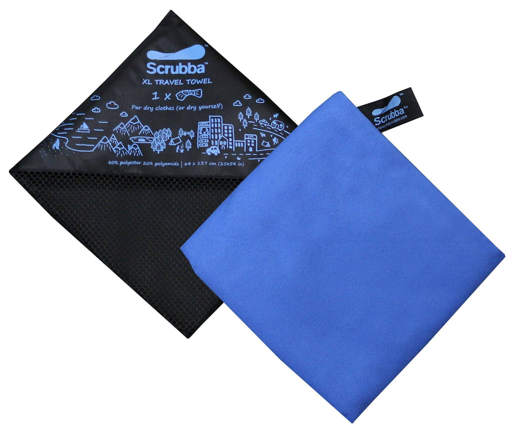 3 pack of Scrubba XL Travel Towels