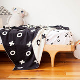 Le Edit - XO Organic Cotton Reversible Blanket - Leonardo & Co. - 2