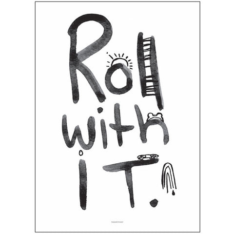 Pax & Hart - Roll With It Poster - Leonardo & Co. - 1