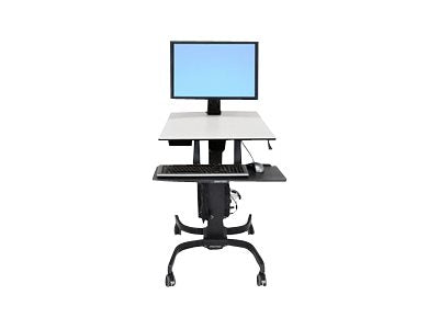 Ergotron WorkFit-C Single HD Sit-Stand Workstation