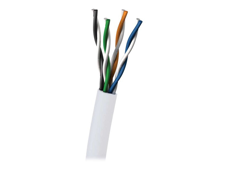 C2G 305m Cat5E UTP 350 MHz Solid PVC CMR-Rated Cable White