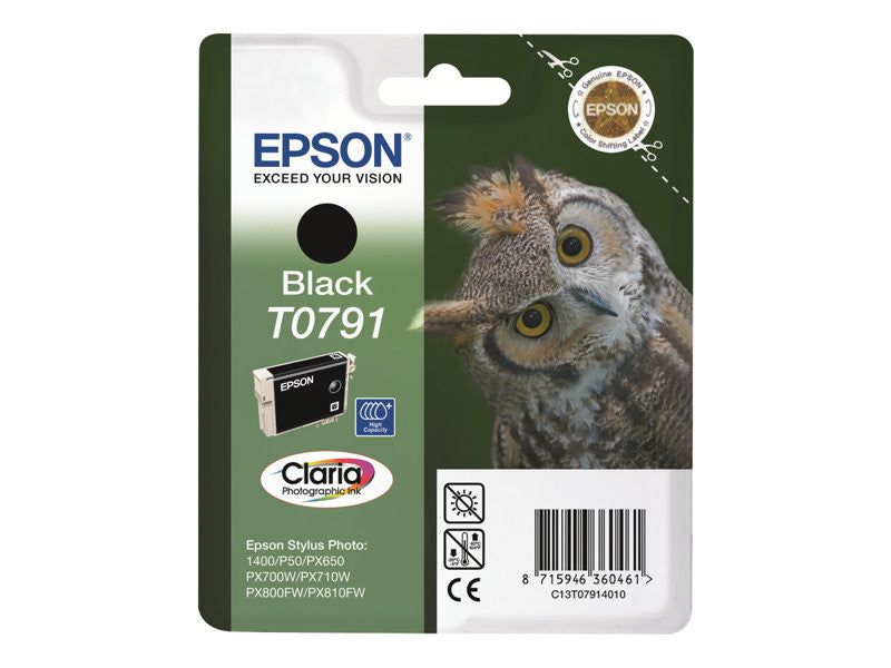 Epson T0791 Print cartridge 1 x black