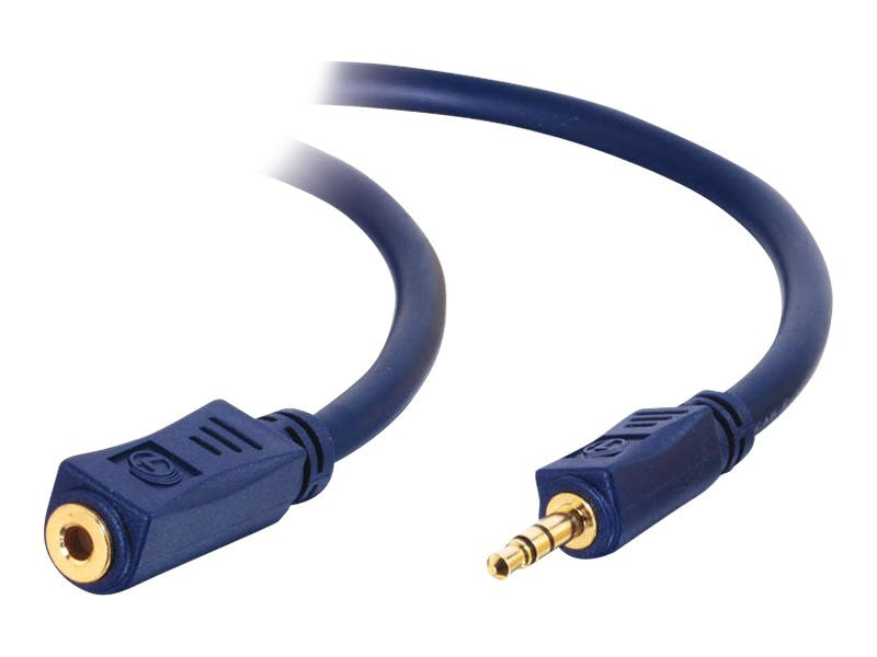 "C2G 2m Velocity"" 3.5mm M/F Stereo Audio Extension Cable"