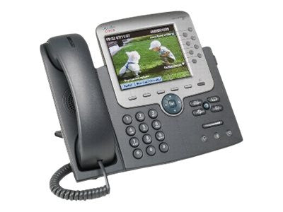 Cisco IP Phone 7975, Gig Ethernet, Color