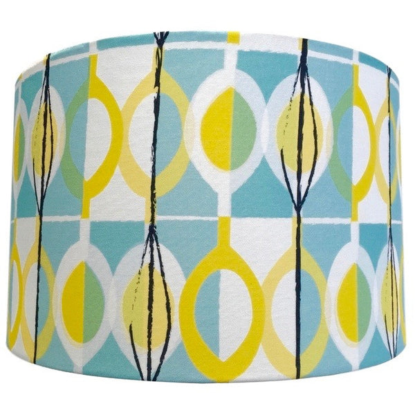 Lampshade in Suburban Modern fabric