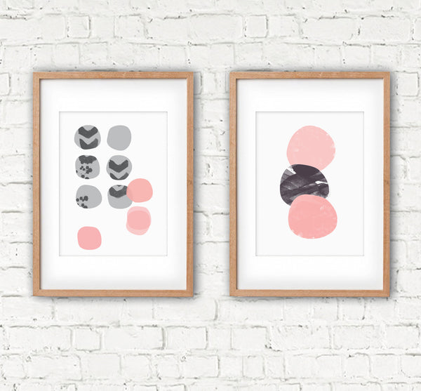 Pebble Stack | A3 Print