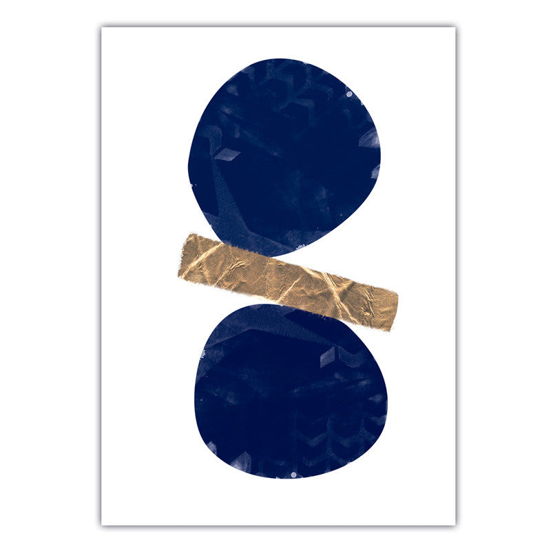 Balanced | Navy and Gold
