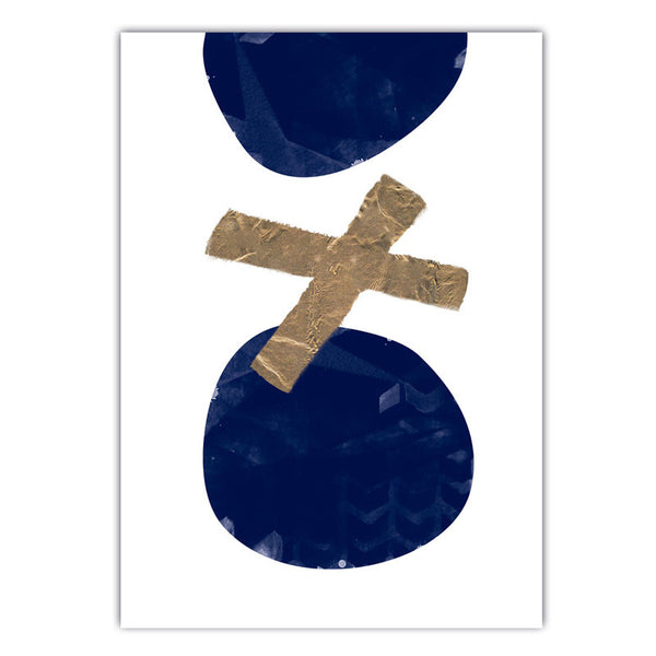XO | Navy and Gold