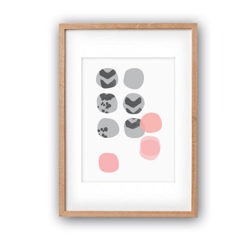 Pebble Scatter | A3 Print