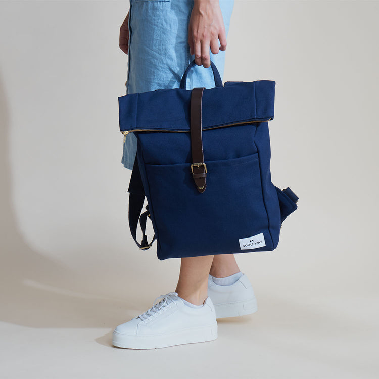 Foldtop - Navy Blue