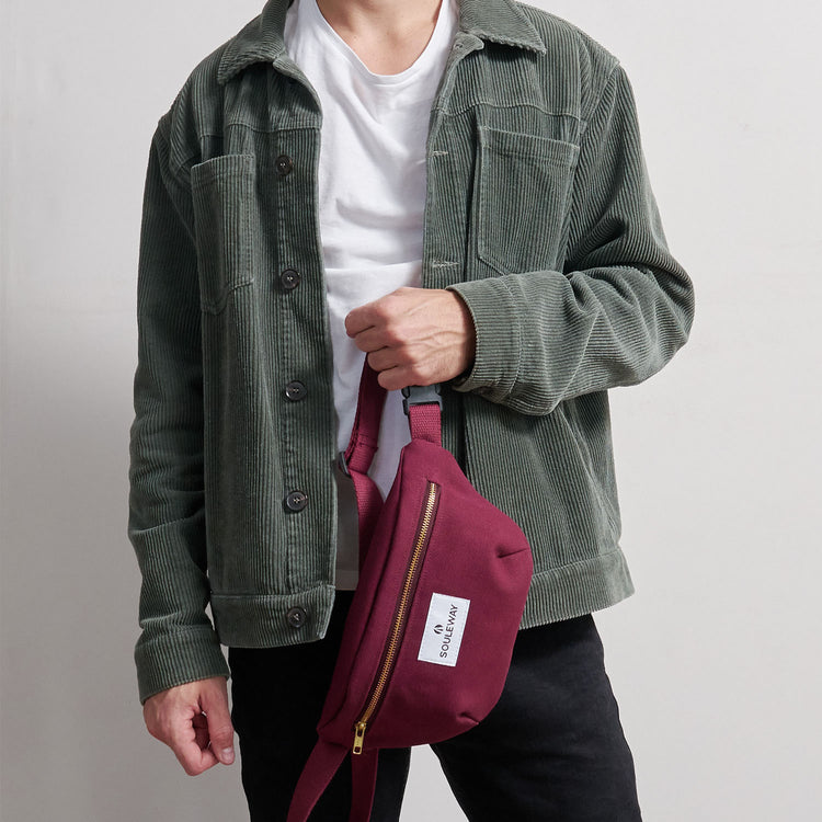 Bum Bag - Bordeaux Red