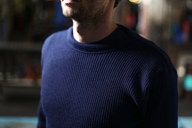 Pull Traditionnel Militaire Pure Laine
