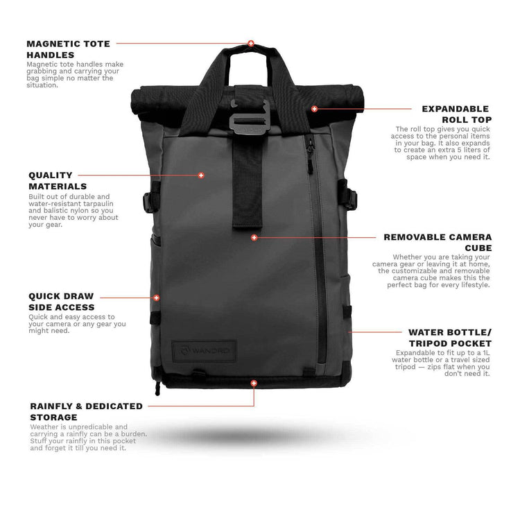 Travel Pack - The Prvke 21l Noir