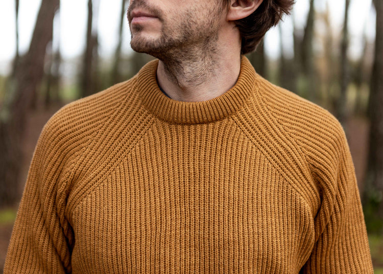 Ford Crew Sweater Wheat