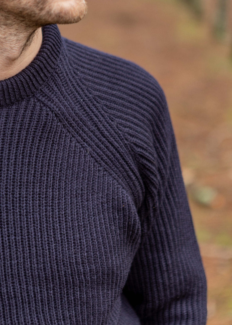 Ford Crew Sweater Navy