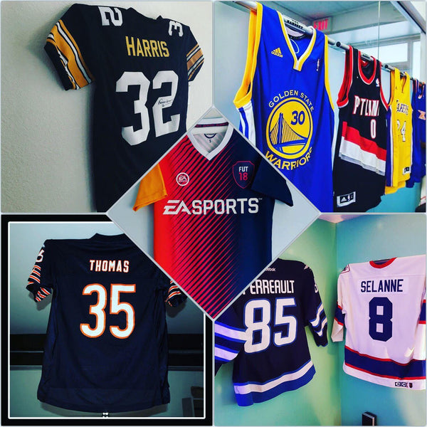Jersey Mount Displays for everyone! - Sports Displays