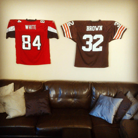 Football Jersey Mount-Jersey Mount-Sports Displays
