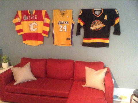 Ice Hockey Jersey Mount-Jersey Mount-Sports Displays