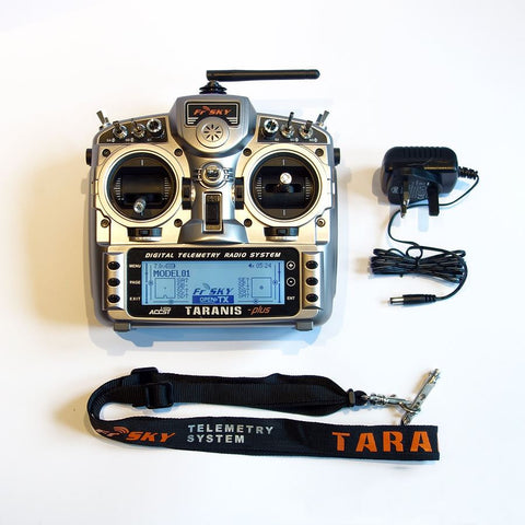 FRSKY - 2.4GHZ  TARANIS PLUS+ - £164.99