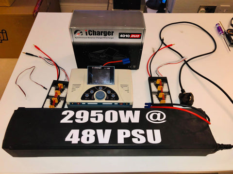 USED x1 - iCharger 4010 DUO 2000W Balance Charger& power Supply