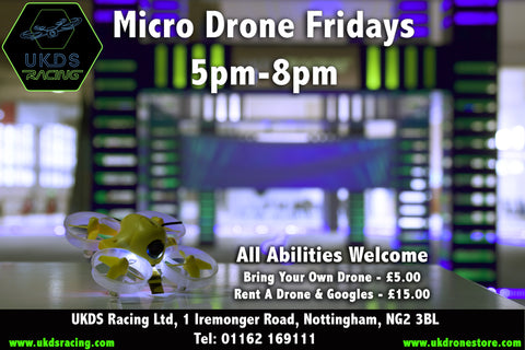 Micro Drone Fridays - 21tst April