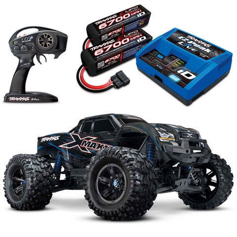 TRAXXAS X-Maxx 1/7 4WD 8S COMBO with charger and 2 batterys