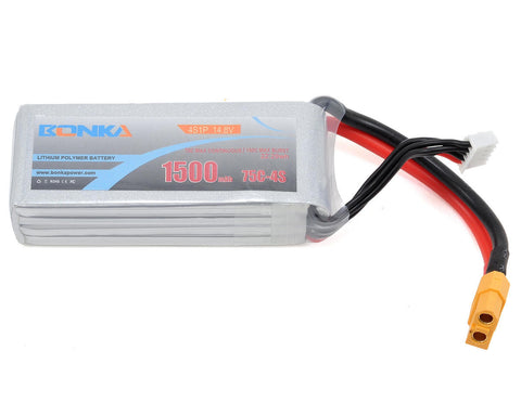 BONKA 1300MAH 4S 75C LIPO BATTERY - £25.00