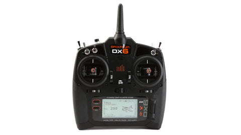 Spectrum DX6 Transmitter Only Mode 2 EU