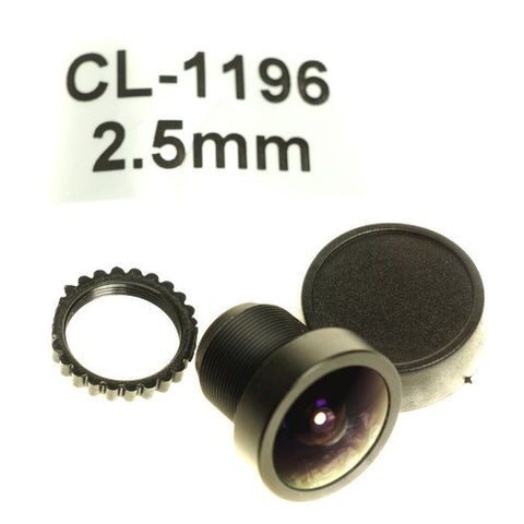 Foxeer 2.5mm or 2.1mm High Quality FPV Camera Lens for HS1177, C1333 or similar