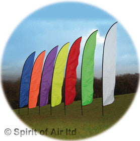 Feather Banner Colours - Wind Creations