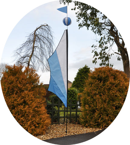 Festival Ball Banner Kite - Cool - Wind Creations - 1