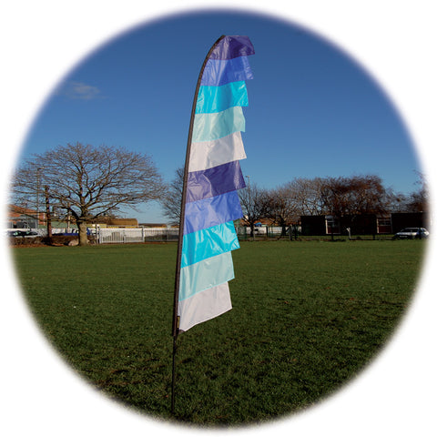 Feather Banner - Cool - Wind Creations