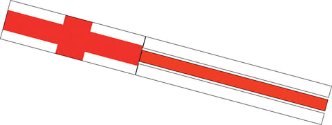 Flag Windsock - St George Cross - Wind Creations