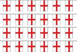 St George Cross Bunting - Wind Creations